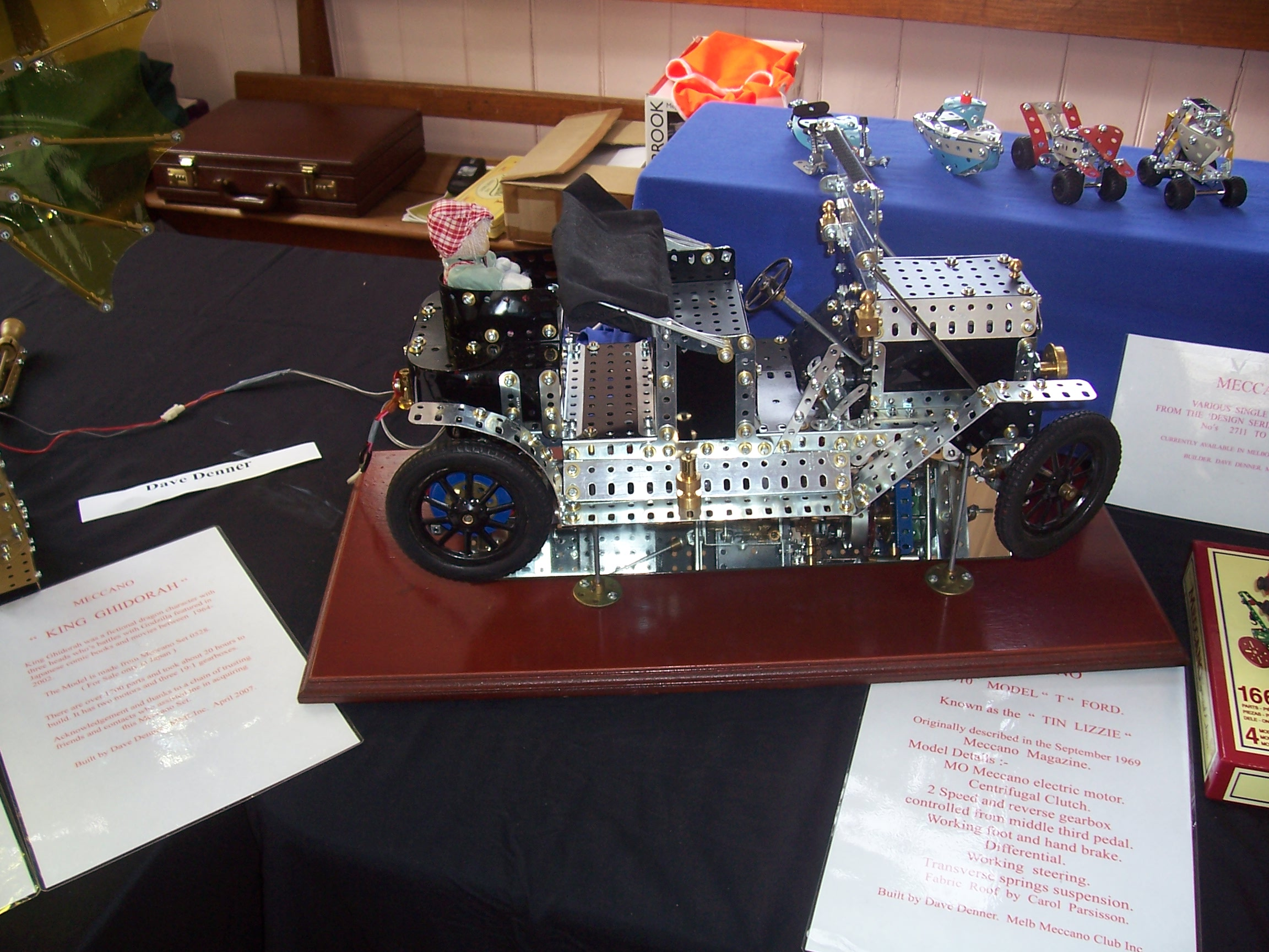 Melbourne Meccano Club 2007 Exhibition Motor Reversing Switches Electronics In 1910 Ford Model T By Dave Denner